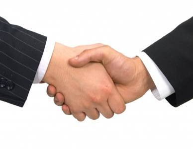 握手(イメージ)